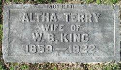 Altha <i>Terry</i> King