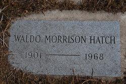 Waldo Morrison Hatch