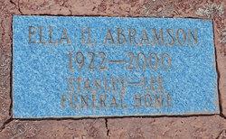 Ella Abramson