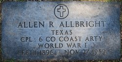 Allen Robert Allbright