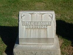 Leslie I Adams