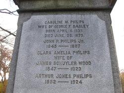 Caroline M <i>Philips</i> Bagley
