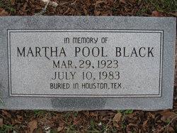Martha <i>Pool</i> Black