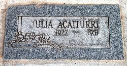 Julia Acaiturri