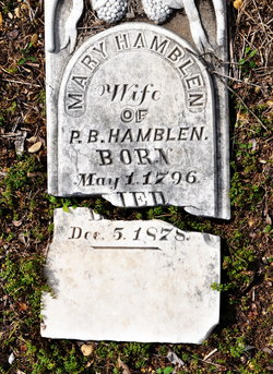 Mary Polly <i>Williams</i> Hamblen