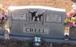 Charlotte June <i>Kilgore</i> Creel
