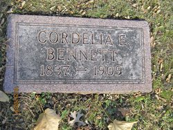 Cordelia E. <i>Brown</i> Bennett Tenney