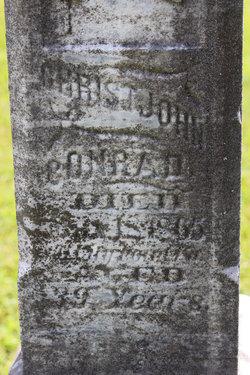 Christ John 'Christian' Conrad