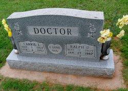 Carrie Inez Doctor
