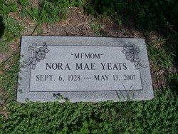 Nora Mae <i>Gilleland</i> Yeats