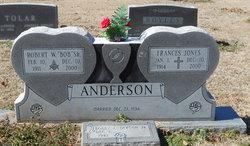Frances <i>Jones</i> Anderson