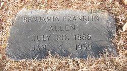 Benjamin Franklin Allen