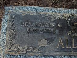 Rev James Andrew Allen, Jr