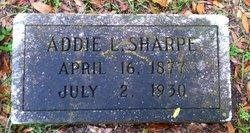 Addie L Sharpe