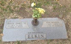 Ann <i>Walker</i> Elkin