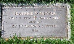 Beatrice V Sutter