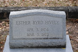 Esther Caroline <i>Pittman</i> Hively
