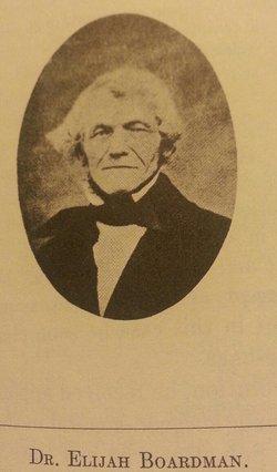 Dr Elijah Boardman
