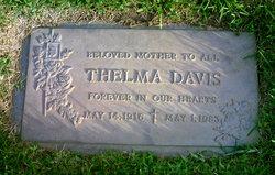Thelma <i>York</i> Davis