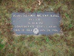 John Henry McVay King