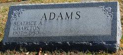 Beatrice <i>Charlton</i> Adams
