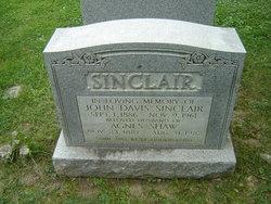 Agnes <i>Shaw</i> Sinclair