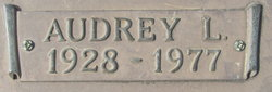 Audrey Lily <i>Anderson</i> Allen
