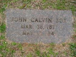 John Calvin Box
