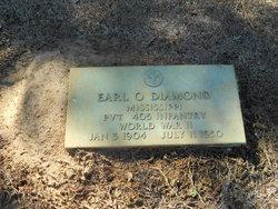 Pvt Earl O. Diamond