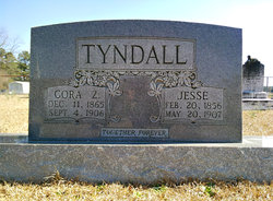 Cora Zuliene <i>Tyndall</i> Tyndall