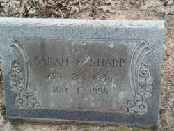 Sarah Elizabeth <i>Alfred</i> Sharp