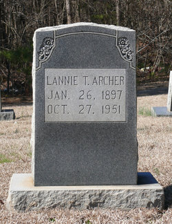 Lannie Tabitha <i>Thompson</i> Archer