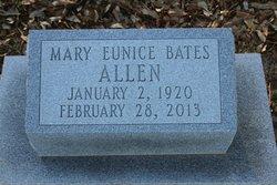 Mary Eunice <i>Bates</i> Allen