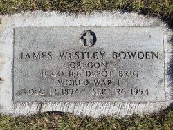 James Westley Bowden
