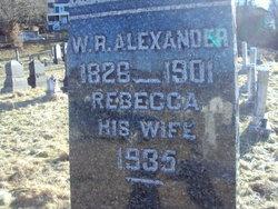 W. R. Alexander