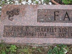 Harriet <i>Yoe</i> Fay