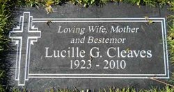 Lucille G Cleaves