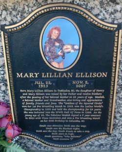 Lillian Fabulous Moolah Ellison