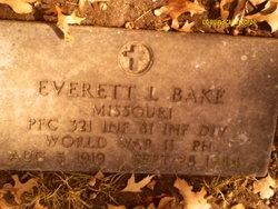 PFC Everett L Bake