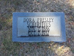 Dora <i>Presley</i> Scherffius