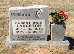 Robert Wain Langston