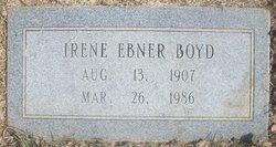 Irene <i>Ebner</i> Boyd