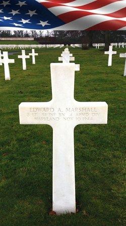 2Lt Edward A Marshall