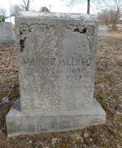 Mary Catherine <i>Crisp</i> Allred