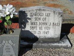 Harold Lee Bass