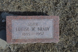 Louise W. <i>Brown</i> Brady