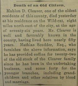 Mahlon Cleaver