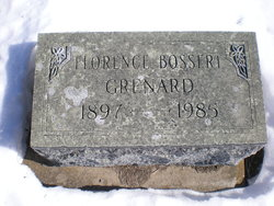 Florence Leotta Evangeline Dolly <i>Bossert</i> Grenard