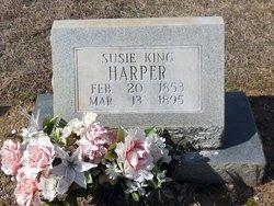Susan Susie <i>King</i> Harper