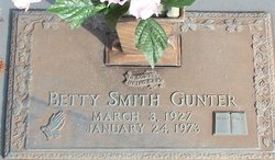Betty Jean <i>Smith</i> Gunter